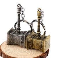 10 шт. игровой мир орк Тралл молоток золото серебро брелок подвеска порте канав llavero Оптовая thj-86