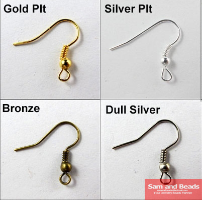 Free Shipping 200PCS/pack Gold Silver  Bronze Nickel   Hooks Coil Ear Wire Earrings FindingsFor Jewelry Making Craft DIYFree Shipping 200PCS/pack Gold Silver  Bronze Nickel   Hooks Coil Ear Wire Earrings FindingsFor Jewelry Making Craft DIY