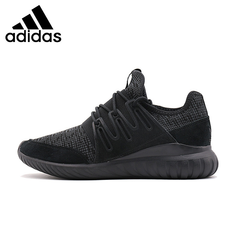 Original New Arrival Authentic ADIDAS TUBULAR RADIAL Mens Running Shoes Breathable Footwear Super Light High Quality missufe high waist skinny dark blue jeans women chic back long zipper elastic stretch pencil pants
