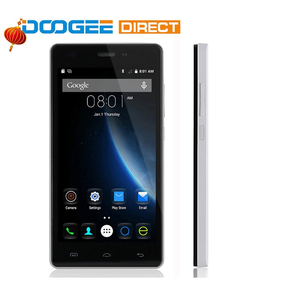 bilder für DOOGEE X5 Pro Android 5.1 4G Smartphone 5,0 zoll Ips-bildschirm MTK6735 64bit Quad Core 2 GB RAM 16 GB ROM Dual Kameras Handy