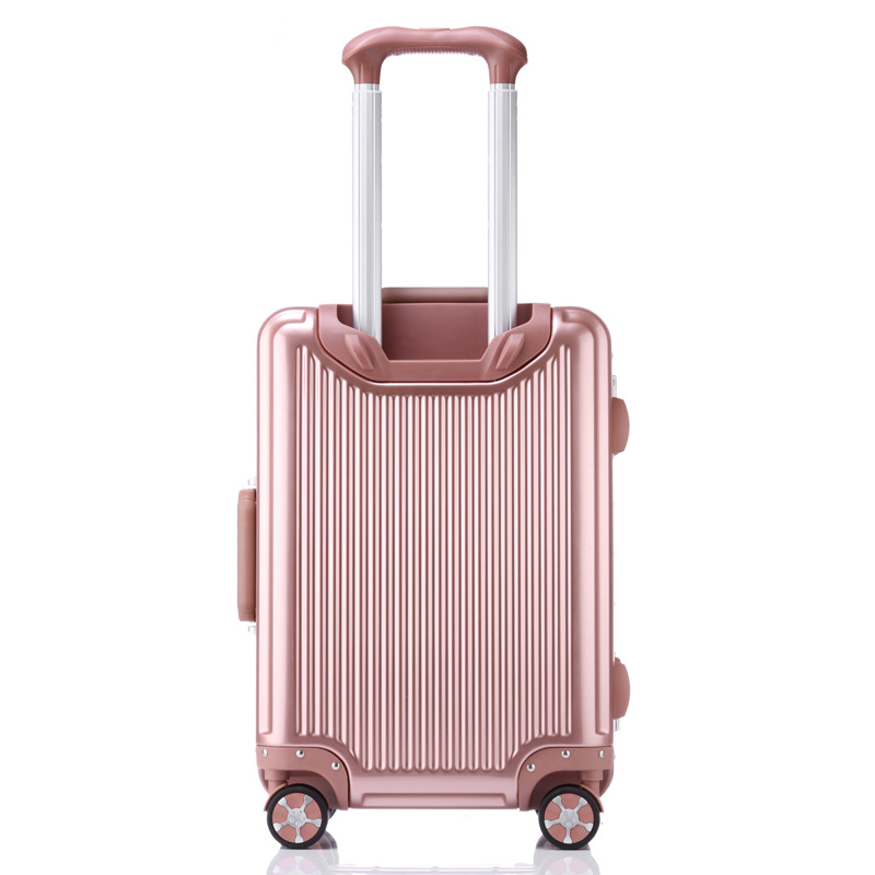 20 2429Intelligent bluetooth aluminum frame suitcase Multi Wheel carry-on cabin travel trolley case rolling luggage wheels