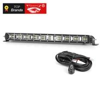 Free shipping Led Light Bar Flood Led Beam Super Slim 21 Inch 90W Auto Work Lights for Off Road Led Bar 12V 24V