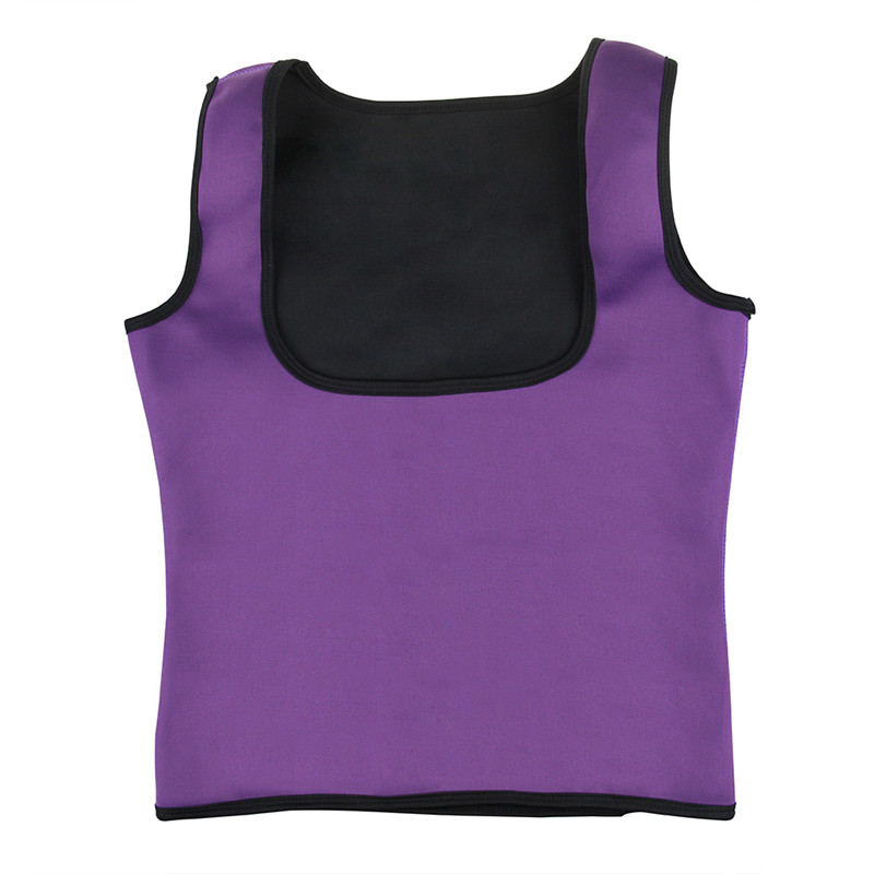 1cd52480a9 Women Neoprene Body Shaper Vest Breast Care Abdomen Fat Burning Fitness  Slimming Shapewear Waist Cincher Trainer Corset Top-in Tops from Underwear  ...