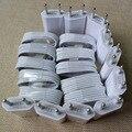 10 Компл./лот Белый BLK ЕС Traval Зарядное Устройство Адаптер + 1 M 8Pin Синхронизации Данных Зарядки Кабель зарядного устройства Шнур Перевод для iPhone 6 6 s 5 5S 5 Г 5С