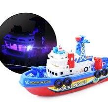 Velocidad rápida luz música eléctrica Marina bomberos luchando barco juguete  para Kids-m15 6e0b9e293cd