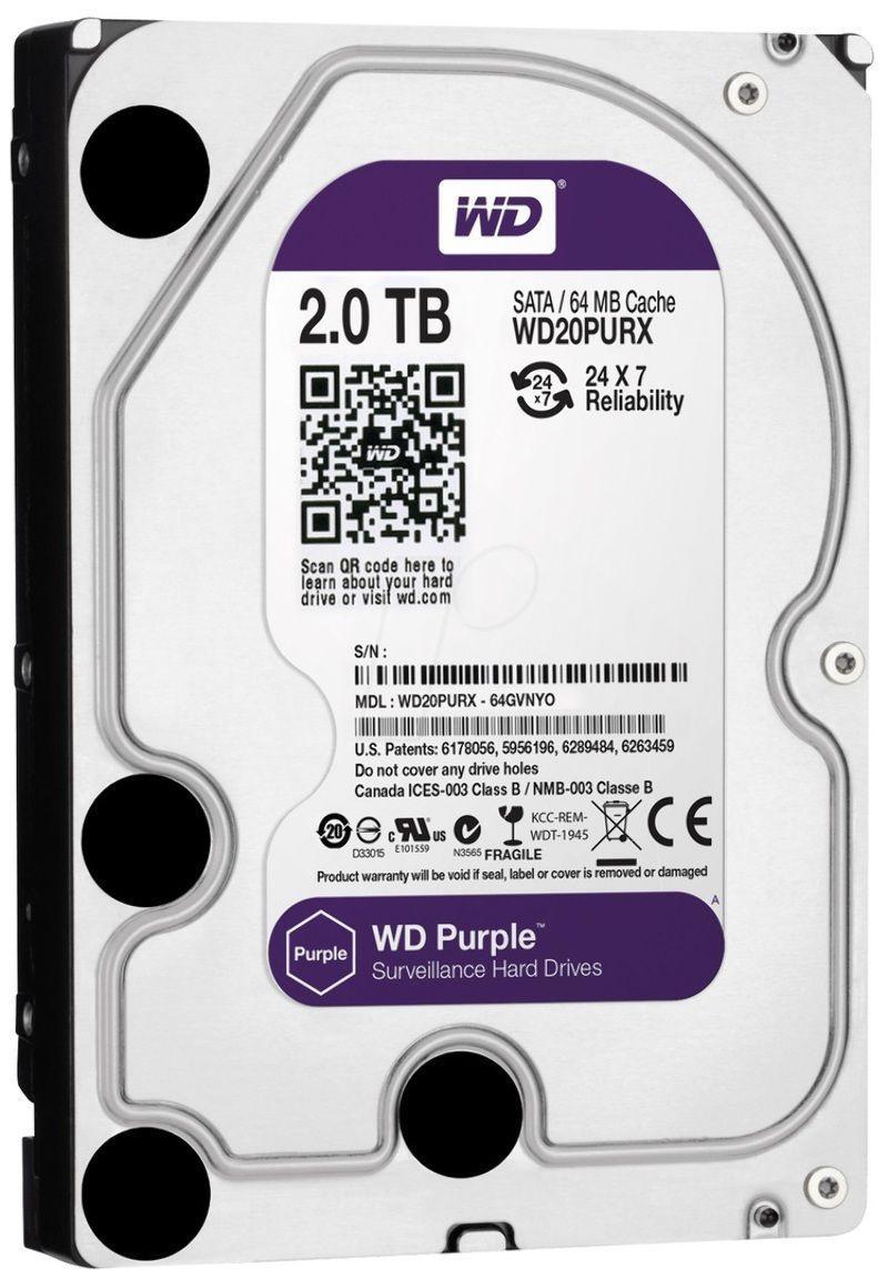 """Здесь продается  WD WD20PURX 2TB Purple 3.5"""" SATA3 Surveillance Internal Hard Drive Desktop PC  Безопасность и защита"""