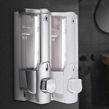 Настенный шампунь диспенсер для мыла; для дезинфицирующих средств Ванная комната Душ жидкий лосьон насос HVR88
