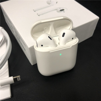 i80 TWS Air 2 Bluetooth Earphones W1 Chip Pop Up Windows Earbuds Wireless Headset For iPhone Earphone 2 Generation