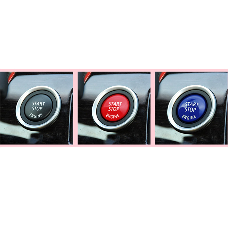 1PC Car Engine Start Stop Switch Button Replace Cover For