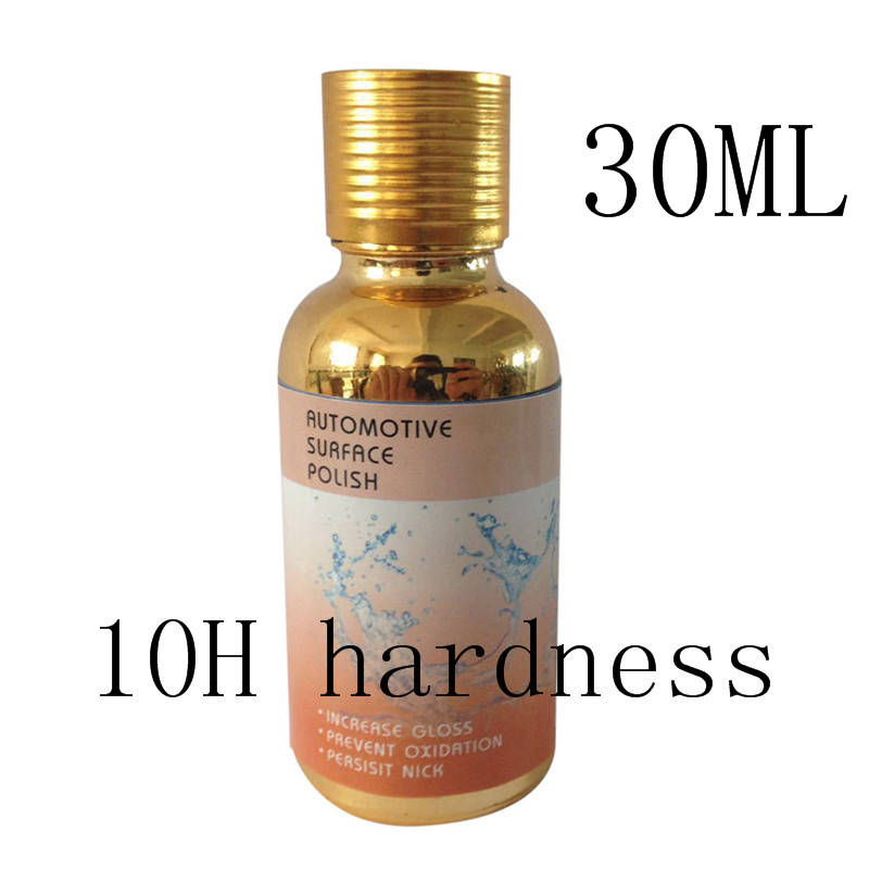 NEW Arrivals 10H Hardness type3 Car Liquid 30ML Ceramic Coat Super Hydrophobic Glass Coating Car Polish p# dropship ...