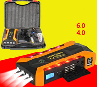 Super Powerful Multi Function 69900mah Car Jump Starter 12V Starting Device Mobile 4USB Power Bank Compass