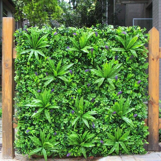€ 81.01 |ULAND clôture de confidentialité artificielle haie de buis 1X1 M  clôture de jardin décorative plantes pour décoration mariage maison ...