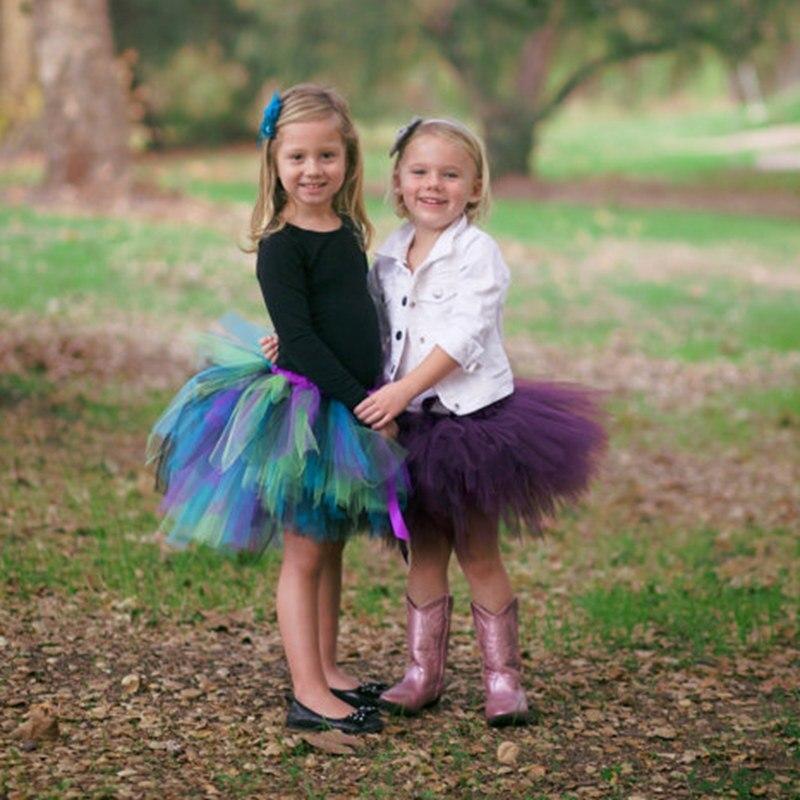 Princesse Bébé Party Girl Tutu Jupe Mignon Bébé Mini Jupes Set Pour Photo Prop Filles Enfants Robe De Bal D'anniversaire Jupes
