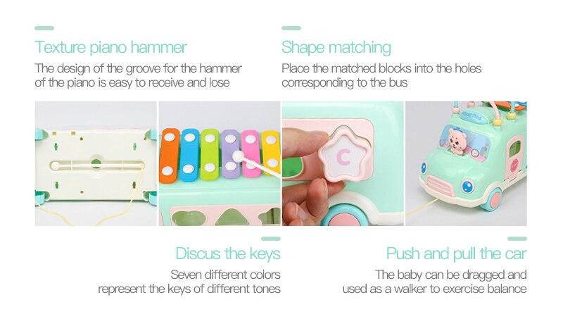 Na Tecla de Piano Criança Brinquedos Educativos De Som brinquedos do bebê