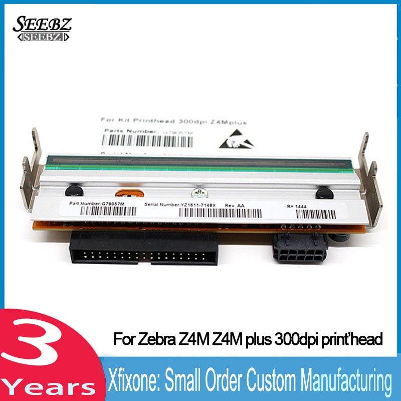 Nova Z4M além Da Cabeça de Impressão Para Zebra Z4M Z4M além Térmica Impressora de código de Barras 300 dpi G41401M Compatível