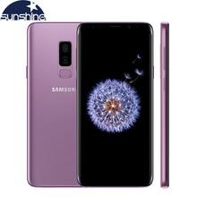 "D'origine Samsung Galaxy S9 Plus 4G LTE Mobile téléphone 6.2 ""12MP 6 GB RAM 64/128/256 GB ROM Double retour Caméra Octa core Smartphone"