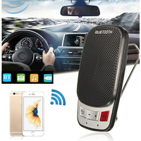 Portable Car Styling Wireless Bluetooth 3 0 Sun Visor Clip Handsfree Speakerphone Car Kit With USB