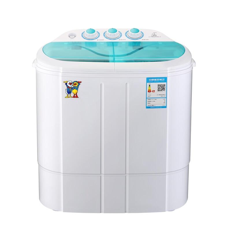 Washer Machine Portable Washing Machine  Portatil 2.5 Kg Small Double Cylinder Fully-Automatic Wave Wheel Mini Washing Machine
