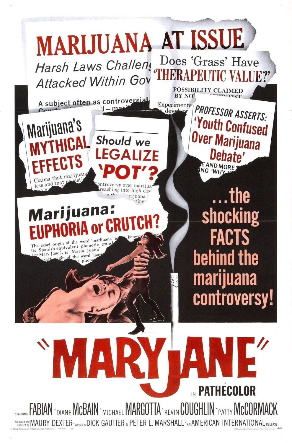 Mary Jane Movie Poster Rare Drugs 420 Weed Greentalent It
