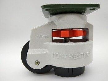 4PCS Set Swivel Heavy Duty Machine Levelling Castors Wheels GD-100F