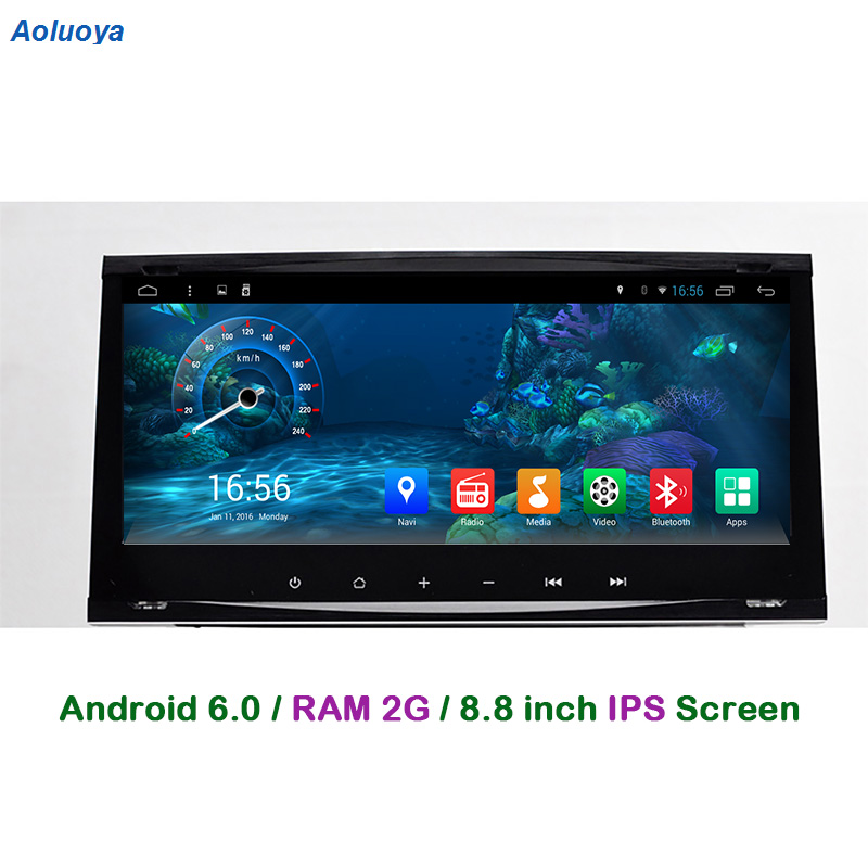 Aoluoya RAM 2GB+32G Android 6.0 CAR DVD Player For Ford Focus Transit Galaxy Mondeo Fiesta C-max S-max Kuga Radio GPS Navigation