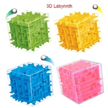 3D Maze Puzzle Cube Speed Cube Labyrinth Rolling Ball Toys Puzzle Game Cubos Magicos Learning Toys
