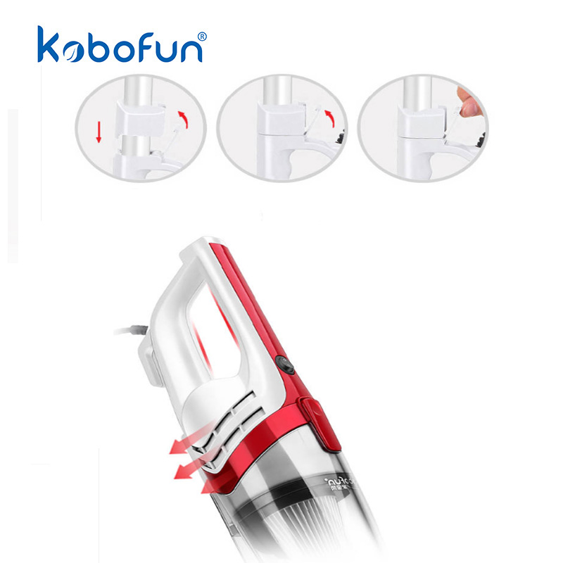 Quietest Home Vacuum Cleaner For Floor Rod Powerful Portable Dust Collector  Home Aspirator Handheld Vacuum Cleaner KBF03-05