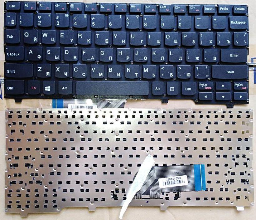 Russian Keyboard for Lenovo Ideapad 100S 100s-11 100S-11IBY RU Black keyboard ru keypad for samsung np300e5a np305e5a np300v5a np305v5a np300e5c russian keyboard black free shipping