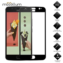 Full Cover Tempered Glass For Moto P30 Play Screen Protector On Motorola One E4 G5 G5S G6 Play Plus G7 Protective Glass Film 2pcs tempered glass sfor glass moto e4 screen protector for motorola moto e4 glass for motorola moto e4 xt1762 protective film