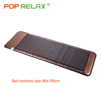 POP RELAX Korea tourmaline stone bed mattress bio germanium jade thermal heating health care far infrared therapy mat 80x190cm