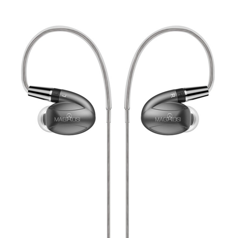 Prix pour Date 2017 MaGaosi K3 Pro Dans L'oreille Écouteur Avec Remplaçable filtres hybird 3 unités HIFI Bass Métal Casque pour tous les téléphones