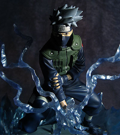 NEW hot 19cm naruto Kakashi lightning skills Action figure toys doll collection Christmas gift with box new hot 18cm naruto hyuga hinata hinata hyuga combat version action figure toys collection christmas gift doll