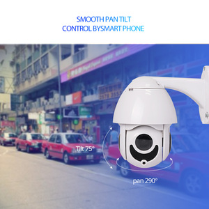 Image 4 - Wheezan ip camera outdoor POE speed dome PTZ Camera 1080p 360 Pan 4x Zoom Night vision Onvif imx323 cctv camaras vigilancia