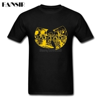 Men Tshirts Gorgeous 100 Cotton Short Sleeve Tee Shirt Men Wu Tang Clan Hip Hop Band