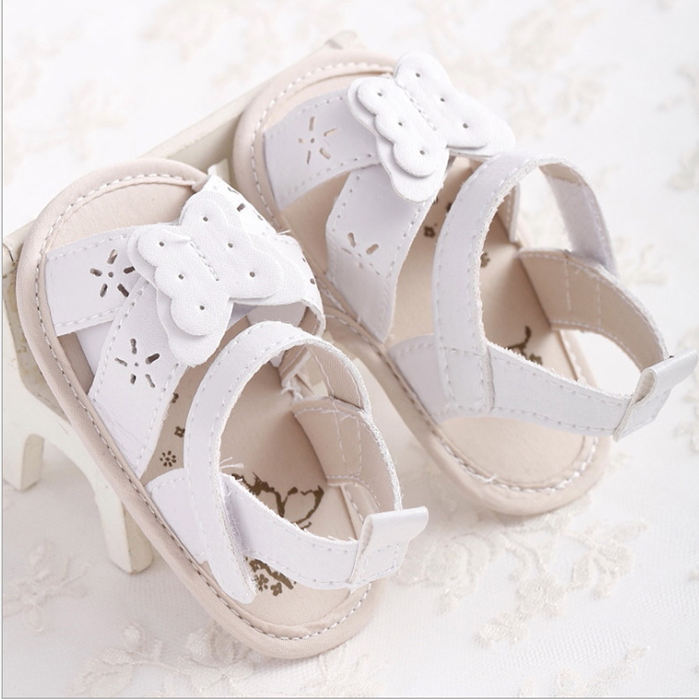 MrY Newborn Summer Prewalker Shoes Kid First Walkers Soft Sole Crib Girl Handmade Soft Casual Breathable Toddler Infants PU Leather