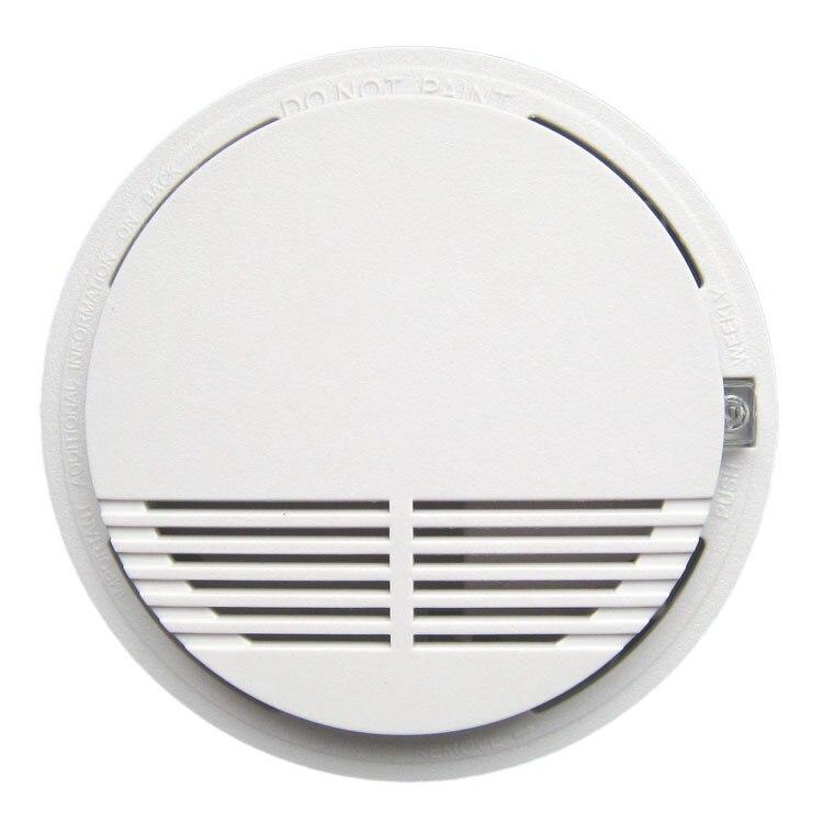 Smoke Alarm  Photoelectric  Battery Optical Smoke Detector  DC9V smoke detector