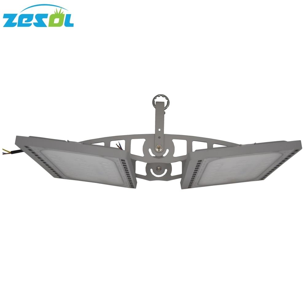 ZESOL 100W LED ضد آب با نور بالا IP66 11000LM برای 120 درجه چراغ روشنایی صنعتی 3 سال ضمانت