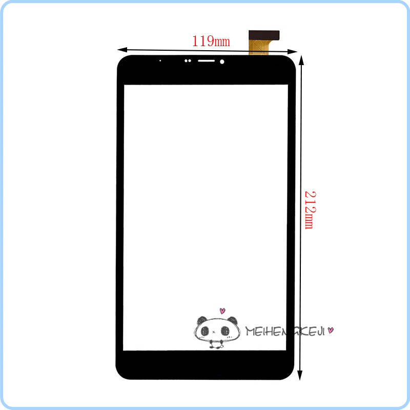 New 7.85 Inch Touch Screen Digitizer Glass Sensor Panel For Vonino Sirius QSX Free shipping new for 10 1 inch qumo sirius 1001 tablet capacitive touch screen panel digitizer glass sensor replacement free shipping