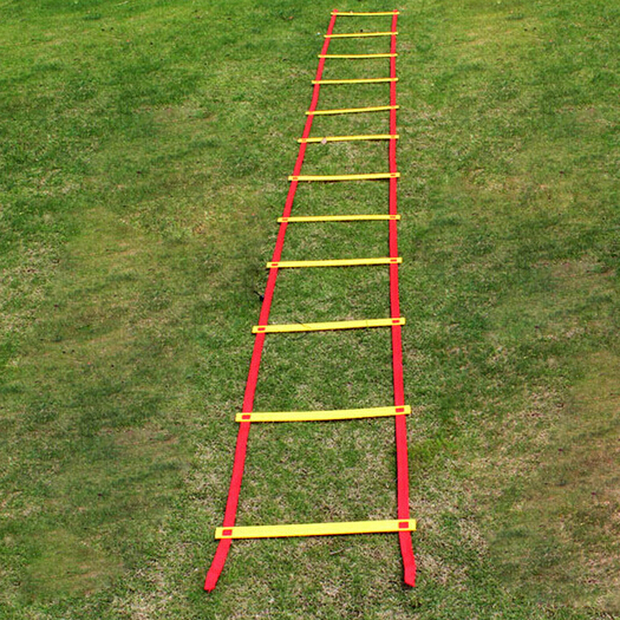 Outdoor Durable 12 Rung 5m Agility Ladder For Football