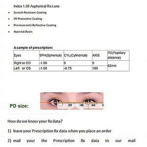 Image 4 - IVSTA przyciemniane okulary soczewki fotochromowe mężczyźni kobiety dioptrii stopień optyczny recepta anti Scratch 1.56 1.67