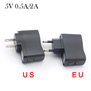 AC to DC USB Charger 5V 0.5A 2
