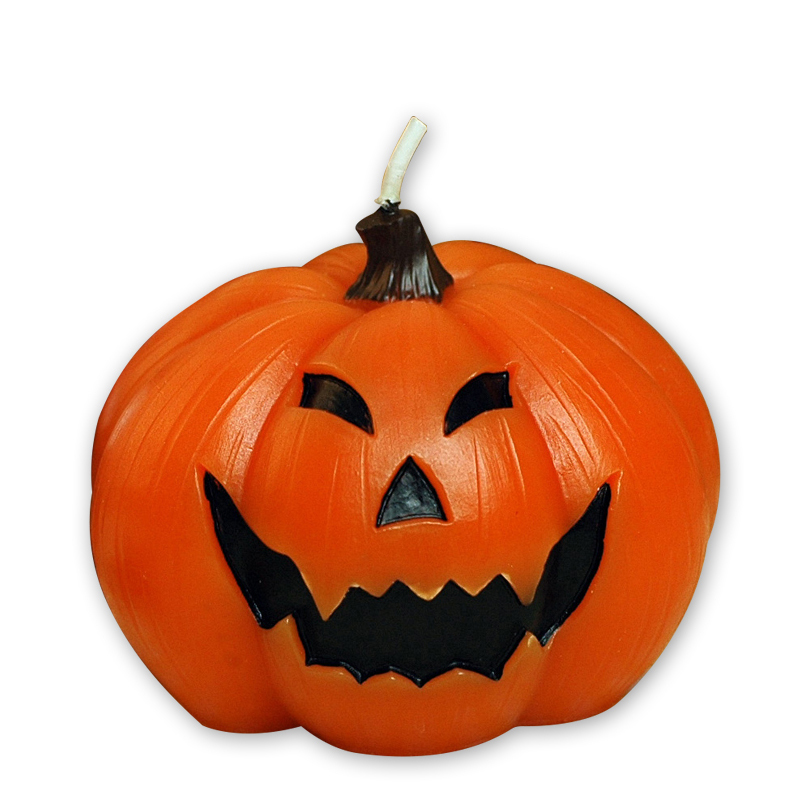 Halloween Pumpkin Candles Crying Smiling Face Different Expressions Face Holiday Gifts Party Coffee Shop Bar Supplies Candles