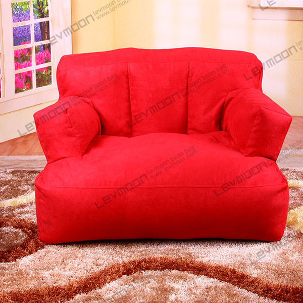 FREE SHIPPING Bean Bags Online Suede Bean Bag Couch Without Filling Red  Bean Bag Football Gaming