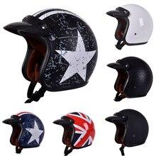 Motorcycle Helmet Vintage Motor Vehicle Helmets Motorbike AT