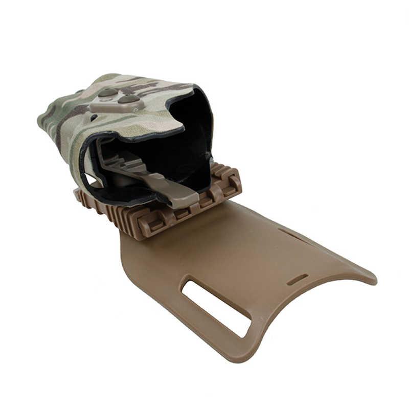 TMC 63DO Pistola Gun Holster X300 Leggero Compatibile G17//18//19 con Pannello QL