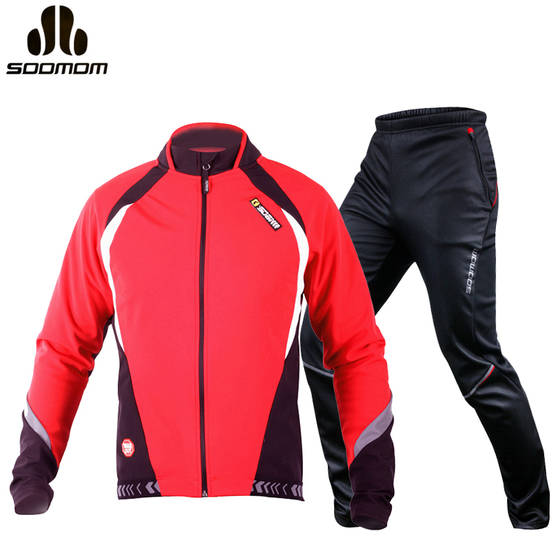 Lance Sobike Cycling Jersey Sets Winter Thermal Fleece Sport Bicycle Clothing Bicicleta Suits Women Mens Cycling Clothes / Pants black thermal fleece cycling clothing winter fleece long adequate quality cycling jersey bicycle clothing cc5081