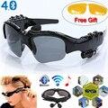 Stereo Sports Sem Fio Bluetooth 4.0 Headset Telefone Polarizados Condução Óculos de Sol/mp3 Equitação Binóculo
