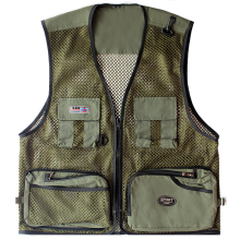 Men's Fly Fishing Vests Multi-functional Fly Fishing Jacket Outdoor Photography Jacket Camo Fishing Vest Fishing Clothes chaleco