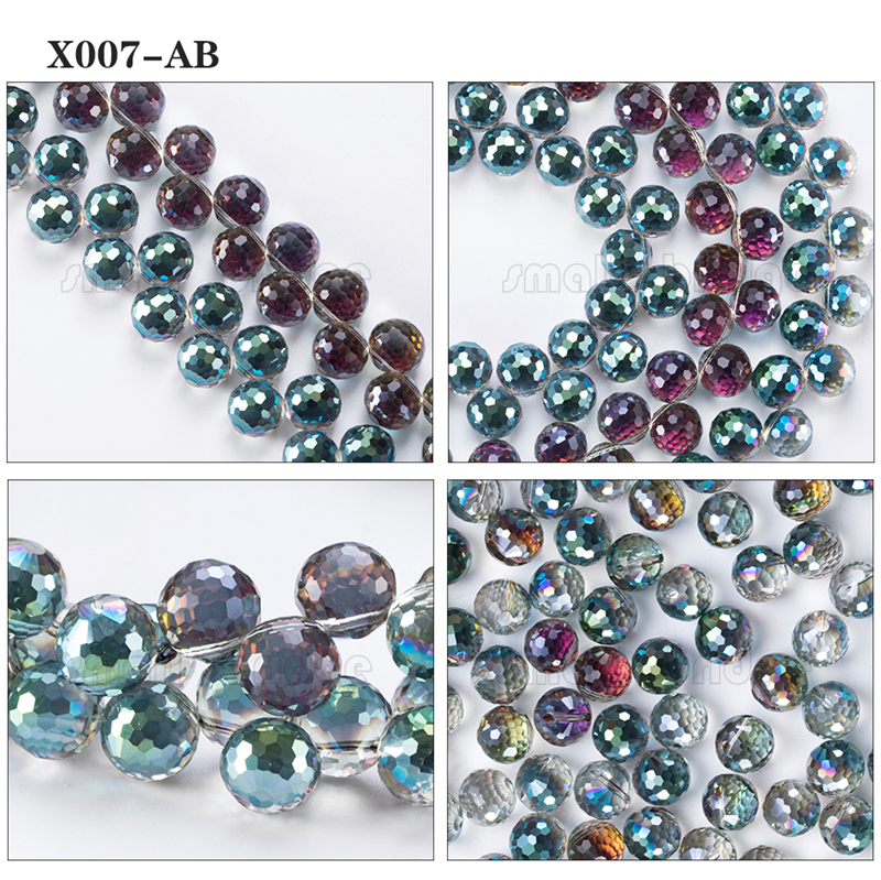 Large Crystal Beads (8)