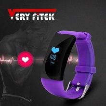 Veryfitek D21 smat сердечного ритма Мониторы умный Браслет Водонепроницаемый Фитнес трекер часы smartband для iOS телефона Android